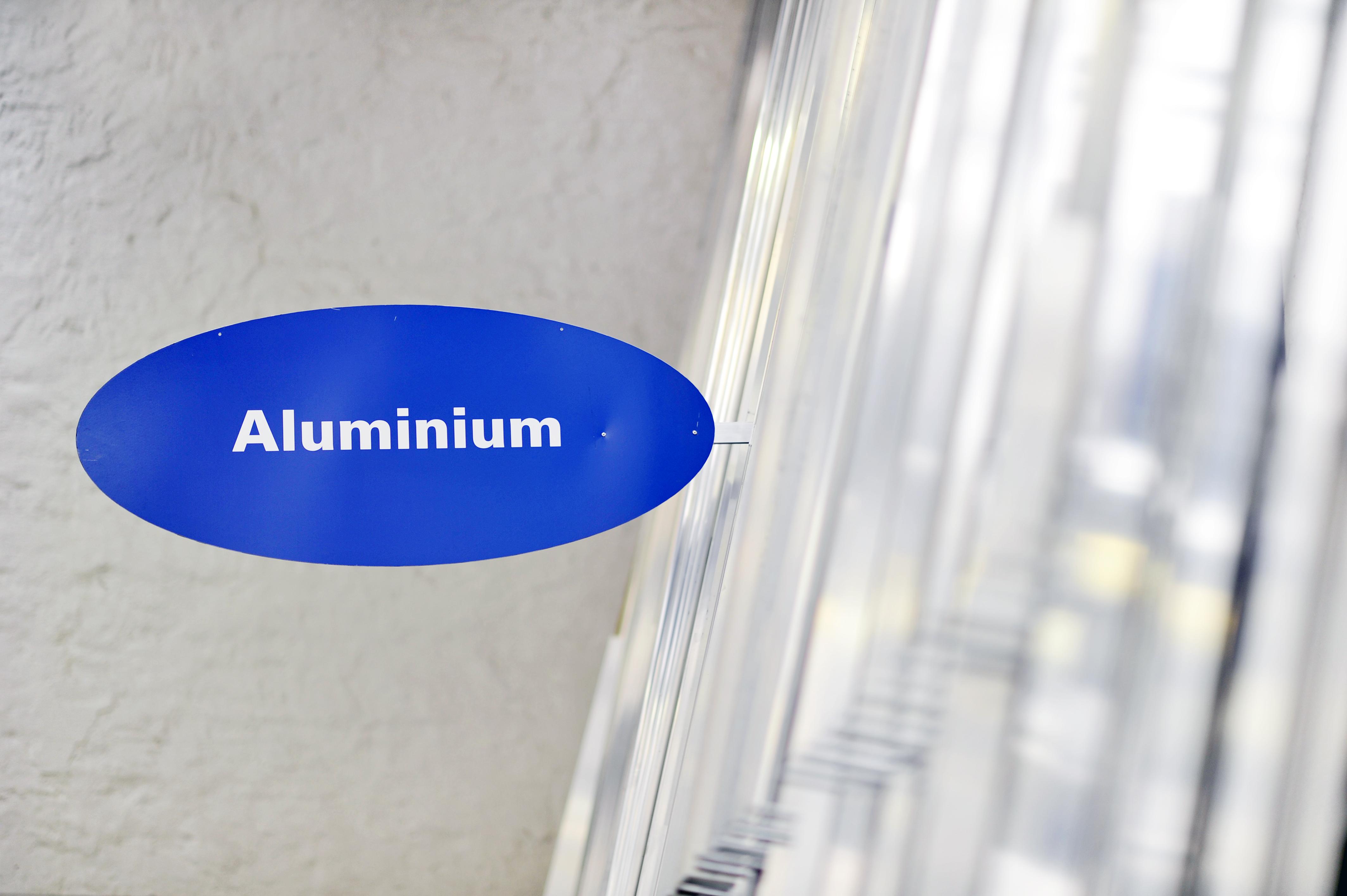 Aluminium kriegt ihr auch bei uns!