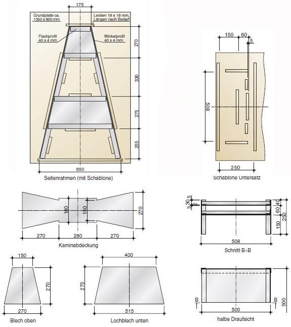 bauanleitung kamin klimaanlage und heizung zu hause. Black Bedroom Furniture Sets. Home Design Ideas