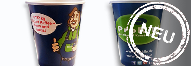 Was dir unsere neuen Kaffeebecher alles verraten