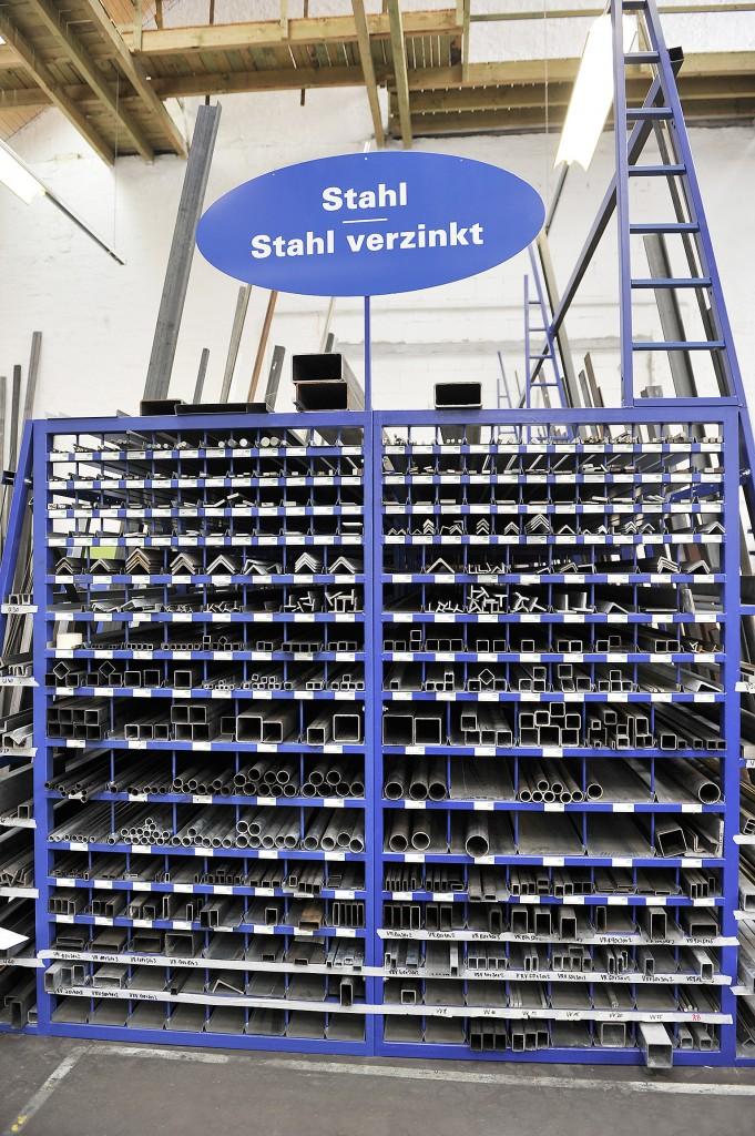 Unser Sortiment an Stahl ist riesig. Schaut euch einfach in unseren Märkten um!