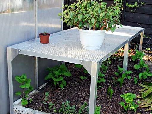 Das Gartentisch-Projekt unseres Kunden
