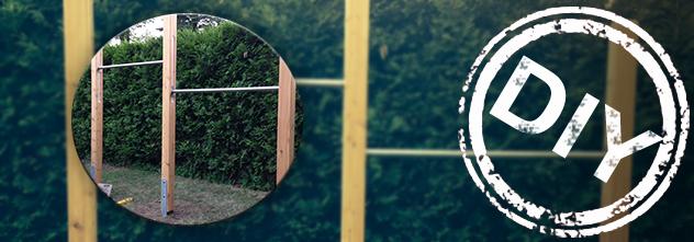 Bauanleitung: mit deinem neuen Turnreck wirst du fit für den Sommer