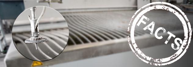 Messerscharfer Wasserstrahl: welche Kraft hinter Wasser stecken kann