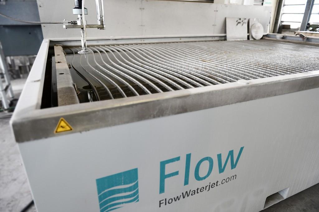 Die Wasserstrahlschneidanlage von FLOW