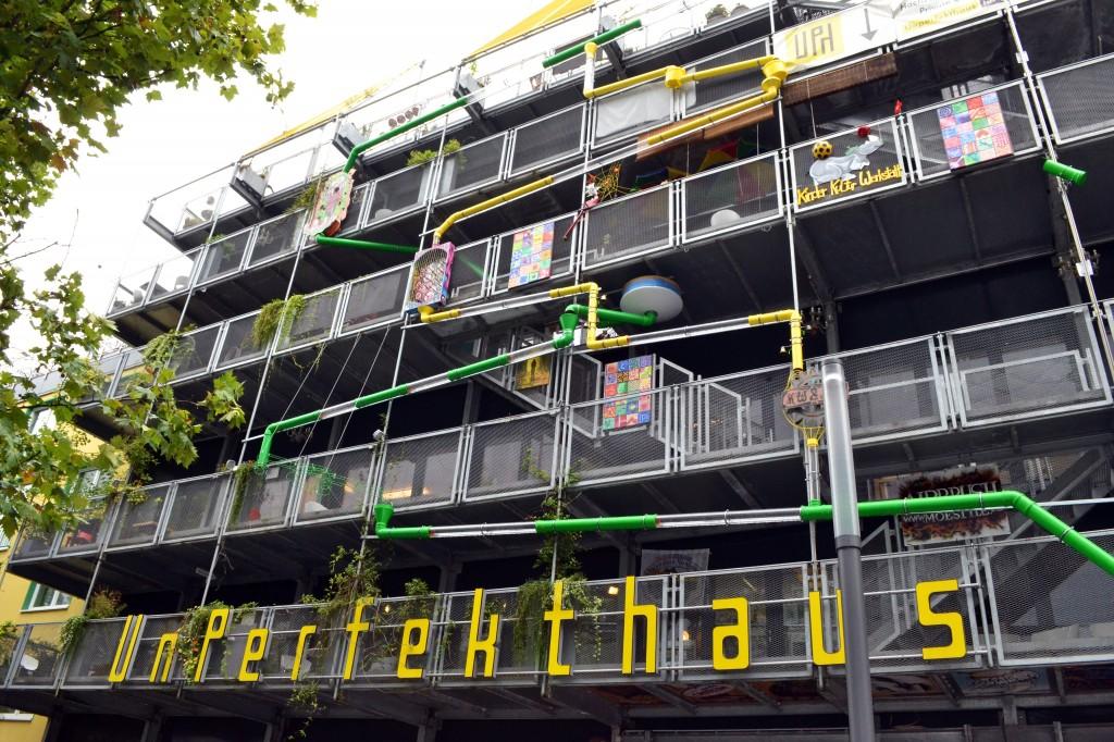 Das Unperfekthaus in der Essener Innenstadt.