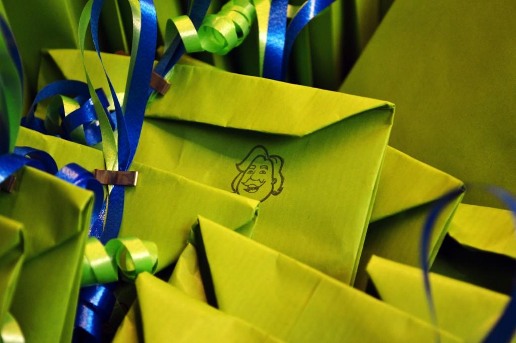Ein kleines Geschenk für unsere Gäste...