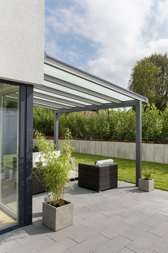 Passt einfach super zu moderner Terrasseneinrichtung