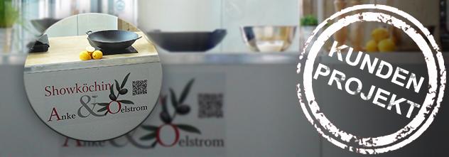 Kundenprojekt: Eine beeindruckende, mobile Show-Küche