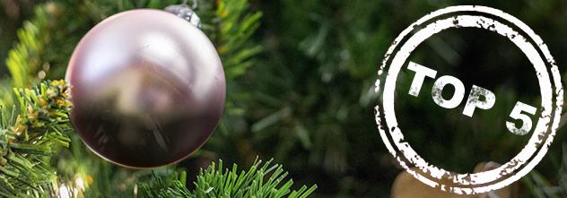 ProKilo Top 5: Diese fünf Dinge dürfen an deinem Weihnachtsbaum nicht fehlen