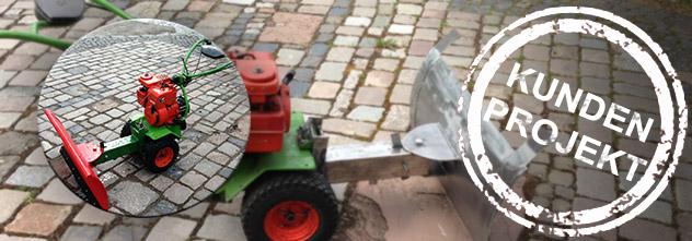 Bauanleitung: ein Schneeschild Marke Eigenbau (Kundenprojekt)