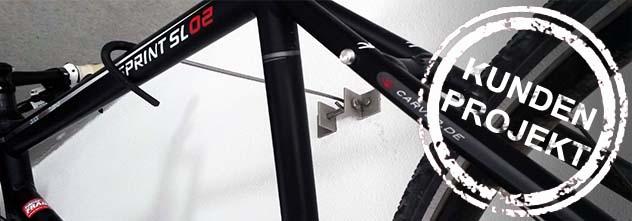 Kundenprojekt: Eine nützliche DIY Halterung für das Fahrrad