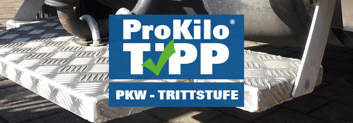 Geländewagen mit individueller Trittstufe – Der ProKilo Tipp