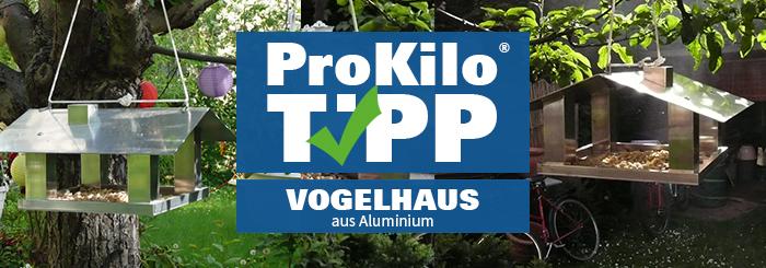 Vogelhaus aus Aluminium – Der ProKilo-Tipp