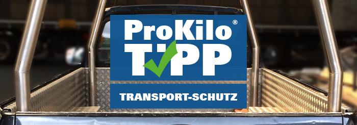 Schutz für Ladefläche und Karosserie beim Transport