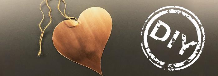 Ein DIY-Herz aus Kupfer – der ganz spezielle Liebesbeweis zum Valentinstag