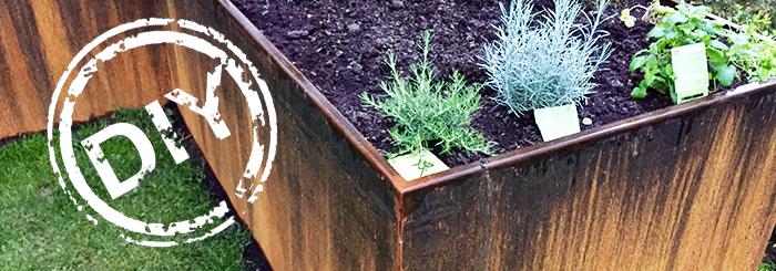 Hochbeet Marke Eigenbau – gärtnern ohne Rückenschmerzen