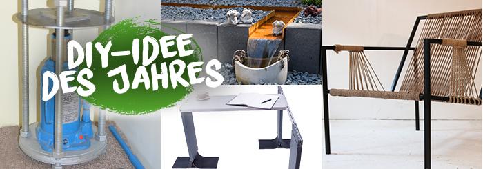 DIY-Idee des Jahres – tolle Gewinne für tolle DIY-Projekte