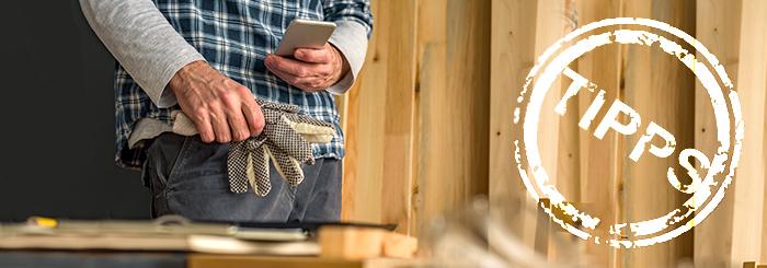 Nützliche Hand- und Heimwerker-Apps für Deine DIY-Projekte