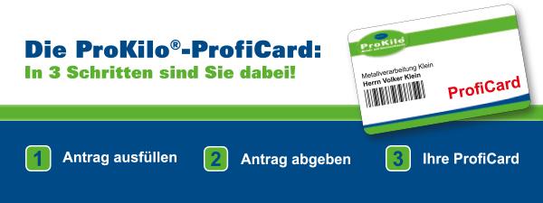 Deine ProKilo-ProfiCard