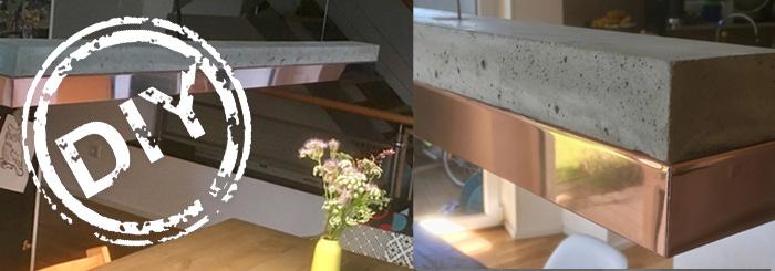 DIY-Idee: Pendelleuchte aus Beton & Kupfer – Marke Eigenbau