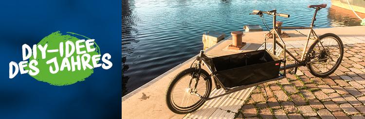 Voll im Trend: Mit Lastenrad umweltbewusst und flott durch die Großstadt