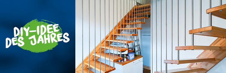 DIY-Projekt: Treppengeländer aus Edelstahl