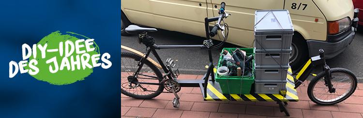 Co2 sparen mit dem Fahrrad